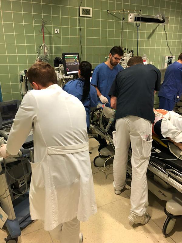 1 Schockraum Simulationstraining Im Ev Krankenhaus Mülheim An Der