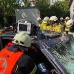 Schwerverletztenversorgung - Zusammenarbeit mit Feuerwehr