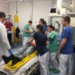 Zwei Tage Schockraumtraining am Vincentius Krankenhaus Karlsruhe