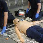 Wieder Fortbildung für das Rettungsdienstpersonal im niederrheinischen Dinslaken