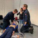 Erste November-Fortbildung für das Personal im Rettungsdienst 2019 in Dinslaken