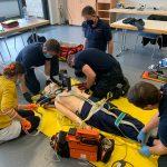 Fortbildung für das Personal im Rettungsdienst der Stadt Dinslaken