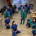 Erstes Schockraum-Simulationstraining im Klinikum Vest