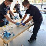 Fortbildung für das Personal im Rettungsdienst der Stadt Dinslaken am Niederrhein